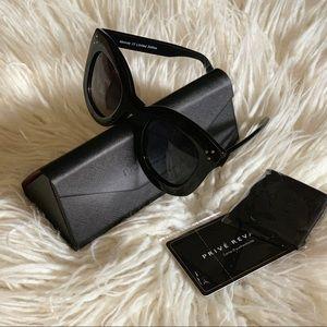 Oversized sunglasses!